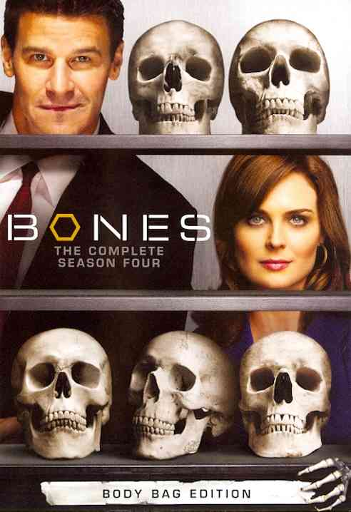 BONES SEASON 4 BY BONES (DVD)